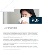 Coronavirus (CoV) GLOBAL