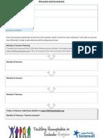 THiS Planning Sheet