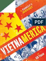 VIETNAMERICA by GB TRAN, Preview Spreads