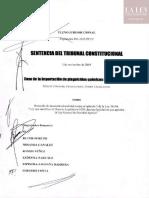 Sentencia de Inconstitucionalidad Exp. N.º 011-2015-PI-TC-