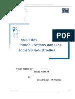 Audit des immobilisations dans les sociétés industrielles