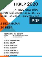 LOKASI KKLP 2020 TOJO UNA-UNA 2020.pptx