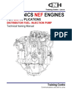 NEF ENGINES (Distributor Fuel - Injection Pump)