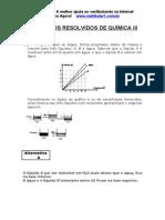 Exercicios Resolvidos Quimica III