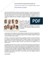 Resumen proceso revolucionario Argentina