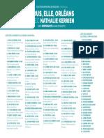 """Liste """"Nous, elle, Orléans"""" présentée par Nathalie Kerrien aux municipales 2020 à Orléans"""