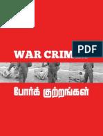 SRILANKA -WAR-CRIMES