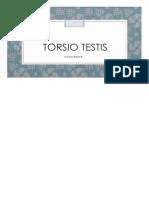 Torsio Testis xxxxx