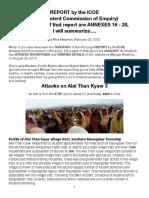 ICOE-Alai Than Kyaw 3 Attacks, Summarized