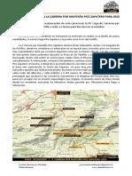Nota Prensa CDAM Almanor Carrera Pico Zapatero