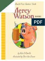 Mercy Watson Series Teachers' Guide