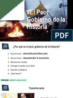 El Peor Gobierno de la Historia