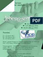 Flyer Lebens-Seminar