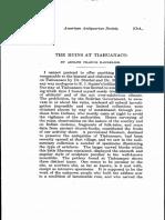 Adolph Bandelier - The Ruins at Tiwanaku (1911) (artículo)