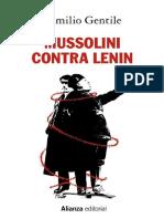 Mussolini Contra Lenin - Emilio Gentile