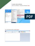 Como reduzir imagem usando o Paint do Windows
