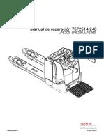 MANUAL DE SERVICIO BT 7572514 LPE200, LPE220, LPE250 2014.pdf