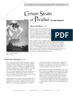 A Certain Strain of Pecular by Gigi Amateau Discussion Guide