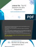 Plus de 40 questions et réponses sur l'assurance vie (Québec) !