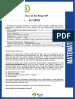 [Assistente de Comissões] 02 - Matemática