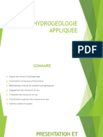 COURS HYDROGEOLOGIE -  CH1