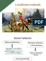 Letteratura cavalleresca medievale