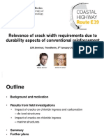 Relevance of crack width and decompression requirements (limits) of reinforced concrete structures