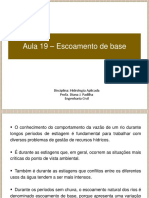 Aula 19 - Escoamento de base