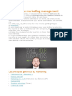 Les Bases Du Marketing Management