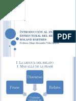 Introducción al análisis estructural del relato – Roland Barthes