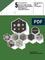 5_Electron Microscope Specimen Prepearation Tehcnique in Materials Science_K C Thompson Russell_ J  W Edington.pdf