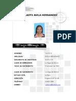 HOJA DE VIDA YULADYS actualizada