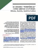 MORSE, R As cidades perifericas como arenas culturais.pdf