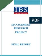 Final Report Mrp