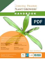 Coastal Prairie Plant Growers' Handbook - 2nd Edition - 2010