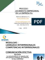 MODULO # 3. LIDERAZGO INTERPERSONAL Rx