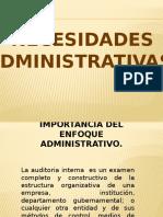 NECESIDADES ADMINISTRATIVAS (1)