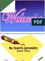 My Favorite Personality Aamir Khan by p.rai87@Gmail