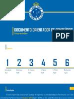 CRUZEIRO EC - DOCUMENTO ORIENTADOR DAS CATEGORIAS DE BASE
