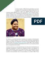 Biografia Rigoberta