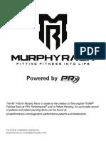 Murphy Rack (Fold-In) Instructions