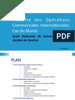 Fiscalité des opérations commerciales internationales