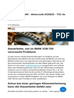 Steuerkette BMW - Motorcode N20B20 - TSC de Betuwe