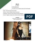 PRESS KIT 2018 DJ MELUK .AGOSTO.-1-5