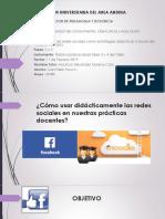 Uso de las redes sociales como estrategias didácticas a través del modelo Atarraya