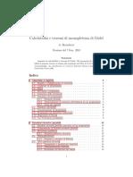 Calcolabilità&TeoremiDiGodel