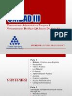 Planteamientos Administrativos Europeos Y Norteamericanos Del Siglo XIX Inicios Del Siglo XX.