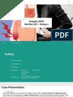 G1 - Prelims - Surgery SGD