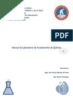 Manual de Fundamentos de Quimica 2019 -