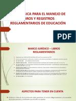 libros reglamentarios corregido por Maria Luis.pptx